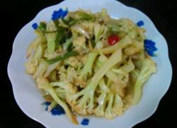 清炒菜花(家常版)
