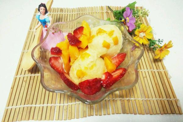 芒果冰淇淋
