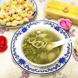 绿豆贝壳粉糖