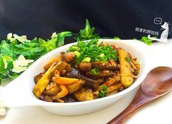 蟹味菇肉末茄条
