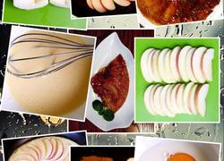 苹果焦糖蛋糕派(学习篇)