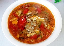 西红柿猪肝蛋汤