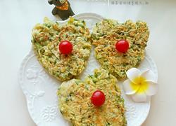 槐花鸡蛋饼