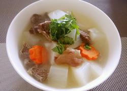 原汁牛肉炖萝卜