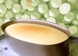 轻乳酪蛋糕(椭圆形模水浴法)