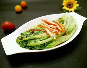 白灼生菜[图]