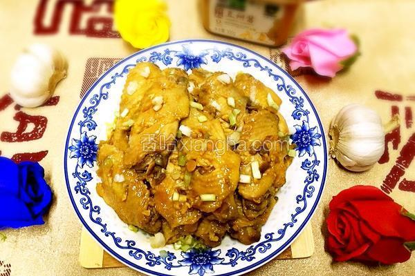 蒸酱香鸡中翅(懒人版)
