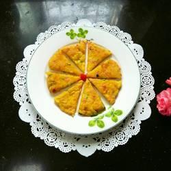 黄瓜火腿蛋饼