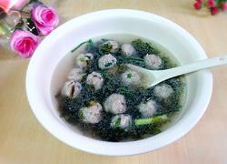 紫菜丸子汤