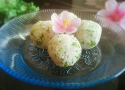 小清新西兰花饭团
