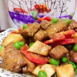 黑椒杏鲍菇嫩牛肉