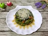 菠菜陈醋花生米的做法[图]