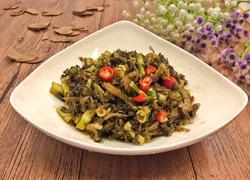 酸菜炒水竹笋