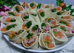 干豆腐蔬菜卷