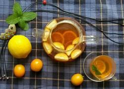 金桔柠檬蜂蜜红茶