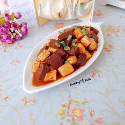 麻辣鸭血炖豆腐