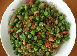 湘味肉末豌豆