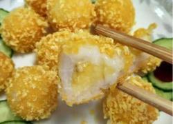 香蕉米饭小丸子