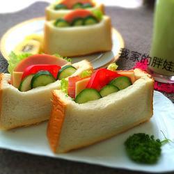 口袋三明治的做法[图]