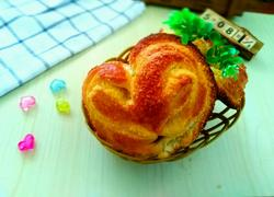 心心相印椰蓉面包