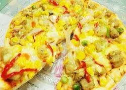 虾仁披萨~pizza