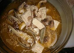 豆腐文蛤黑椒酸辣汤