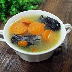 萝卜枸杞乌鸡汤的做法[图]