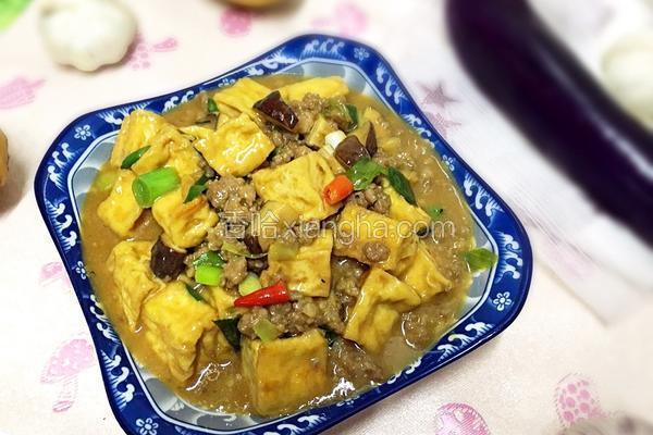 肉末香菇豆腐
