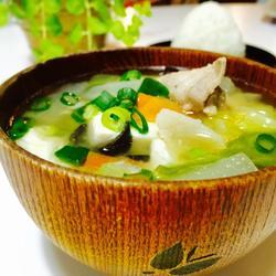 日式味噌汤的做法[图]