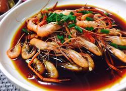 绍兴酱油河虾