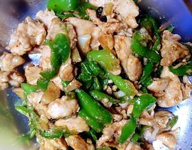 青椒炒鸡肉[图]