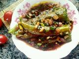 虎皮尖椒酿肉的做法[图]
