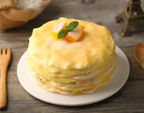 榴莲千层蛋糕[图]