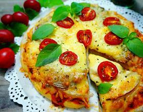 番茄披萨[图]