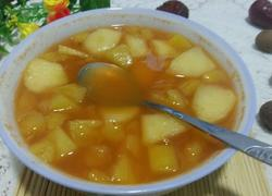 胡萝卜菠萝苹果汁