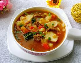 新疆汤饭[图]