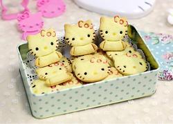 KITTY猫饼干