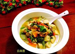 白菜炖冻豆腐