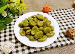 蒜香青蚕豆