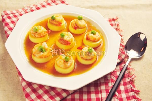 日本豆腐蒸虾仁