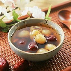 红枣桂圆枸杞红糖水的做法[图]