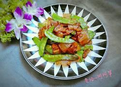青扁豆炒腊肉