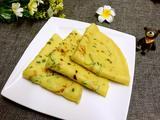 黄瓜葱花鸡蛋饼的做法[图]