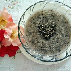 黑芝麻粥的做法[圖]
