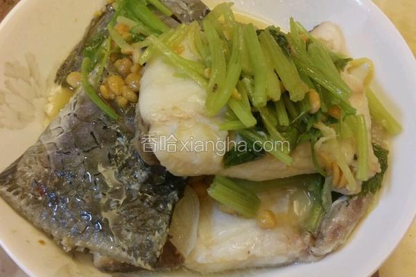 香芹豆酱鱼