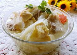 砂锅白菜冻豆腐