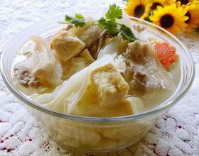 砂锅白菜冻豆腐[图]