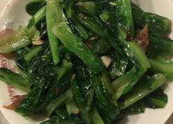 豆豉鲮鱼炒麦菜