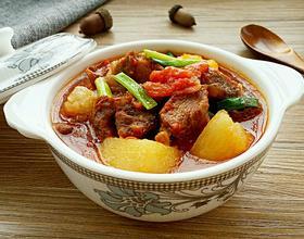 西红柿土豆炖牛肉[图]