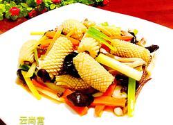 姜葱鱿鱼卷